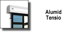 ALUMID ELECTRIC MOTORIZED TENSIONATED SCREEN BY ADEO