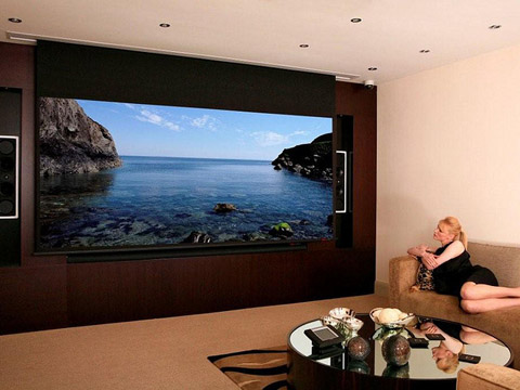 Adeo screen sp z o o for The family room research