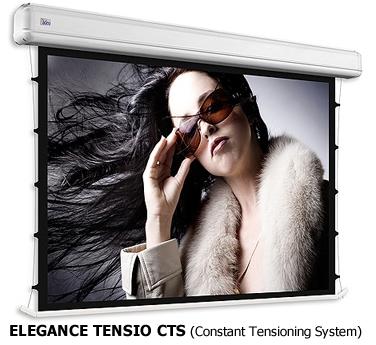 Schermo tensionato Elegance in versione CTS