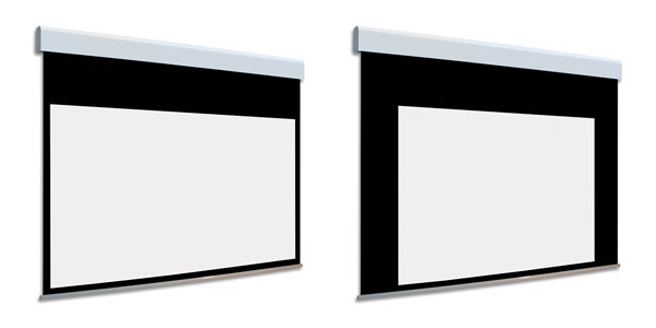 Adeo Screen Adeo Screen Biformat with black borders