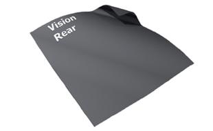 Vision Rear projectiedoek van Adeo projectieschermen