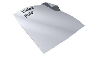 Vision Fold projectiedoek, voor in de frame projectieschermen van Adeo.